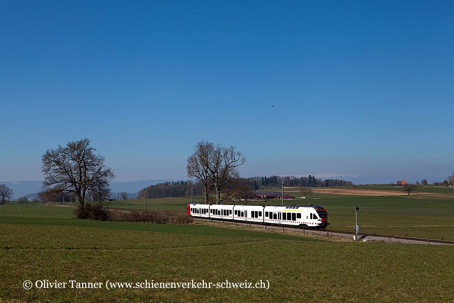RABe 527 196 als S20 Neuchâtel – Fribourg